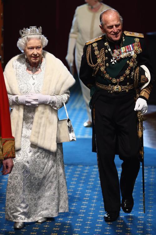 королева Елизавета II и принц Филипп, герцог Эдинбургский на Церемонии открытия парламента. Фото: Dan Kitwood - WPA Pool/Getty Images