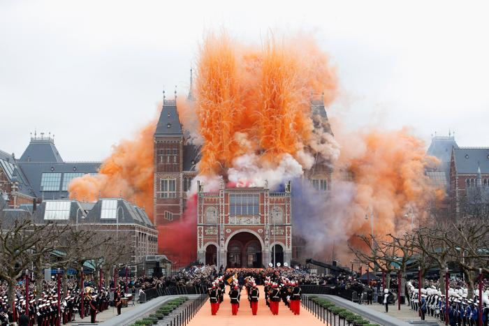 Королева Беатрикс открыла музей после масштабной реконструкции. Фото: Dean Mouhtaropoulos/Getty Images