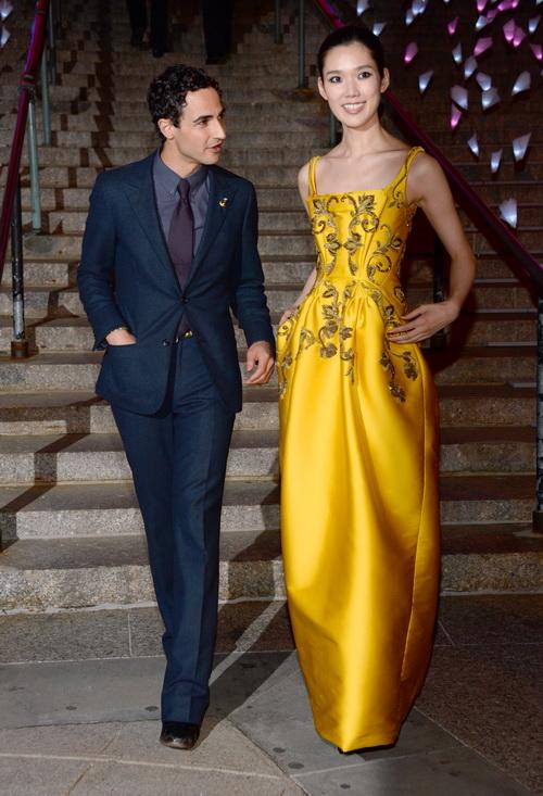Звёздные гости прибыли на открытие кинофестиваля Tribeca. Фото: Dimitrios Kambouris/Getty Images