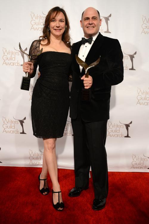 Писатели на вручении премии Гильдии писателей США. Фото: Jason Kempin/Getty Images for WGAw