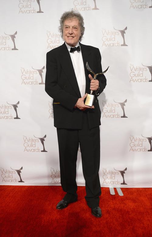 Том Стоппард на вручении премии Гильдии писателей США. Фото: Jason Kempin/Getty Images for WGAw