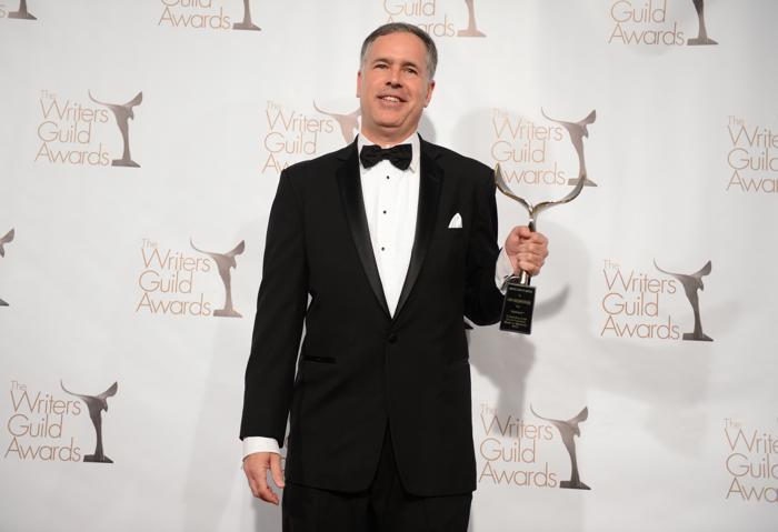 Писаетль на вручении премии Гильдии писателей США. Фото: Jason Kempin/Getty Images for WGAw