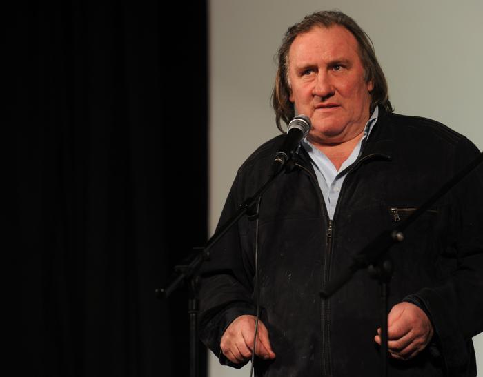 Жерар Депардье принял участие в открытии «Иллюзиона» 22 февраля 2013 года. Фото: ANDREY SMIRNOV/AFP/Getty Images