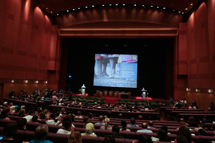 Международная конференция «Женщины дарят жизнь — 2013» стартовала в Малайзии. Фото: Rahman Roslan/Getty Images