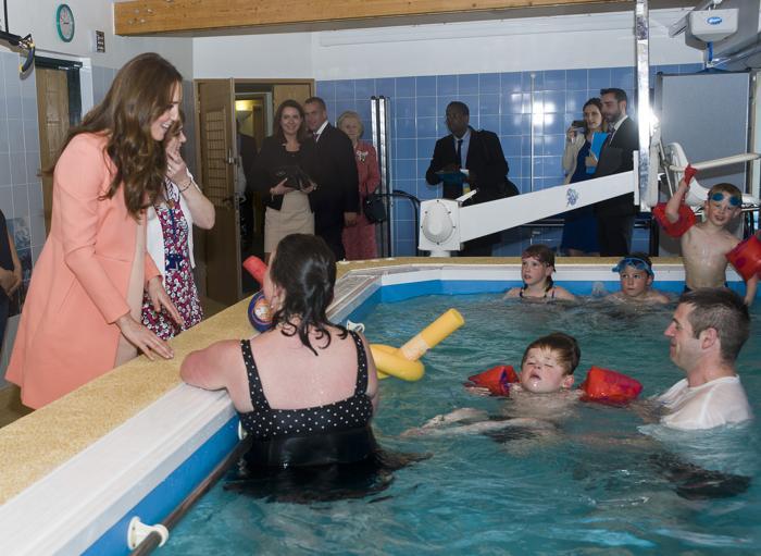 Герцогиня Кембриджская посетила детский хоспис в Хэмпшире. Фото: David Parker/WPA Pool/Getty Images