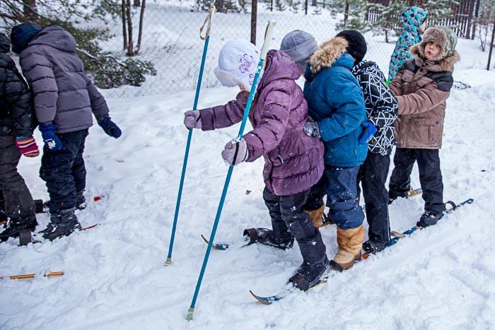 Лыжные соревнования. Фото: Сергей Лучезарный/Великая Эпоха (The Epoch Times)