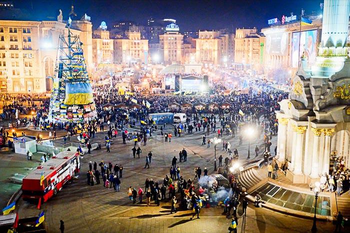 Массовые акции протеста на Украине не стихают. Фото: Фёдор Треногов
