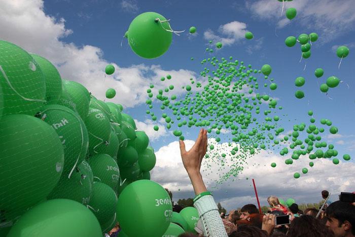Фестиваль «Зелёный». Фото: Любовь Сердюк