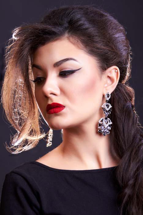 Модный макияж 2014. Софья. Фото: Андрей Муравьёв