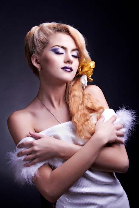 Модный макияж 2014. Диана. Фото: Андрей Муравьёв