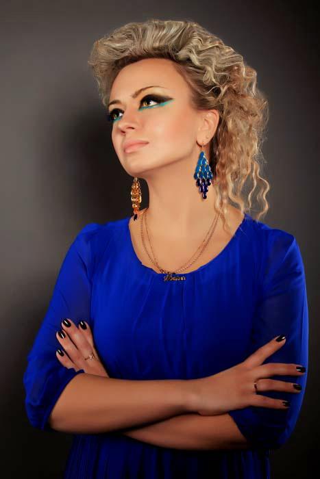 Модный макияж 2014. Виктория. Фото: Роман Корнеев