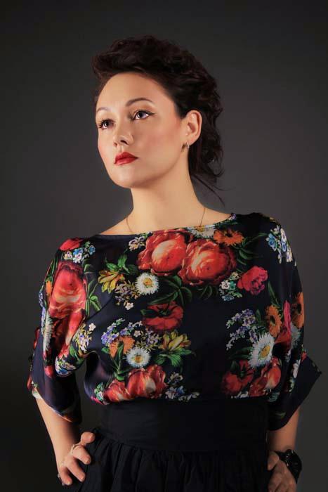 Модный макияж 2014. Яна. Фото: Роман Корнеев