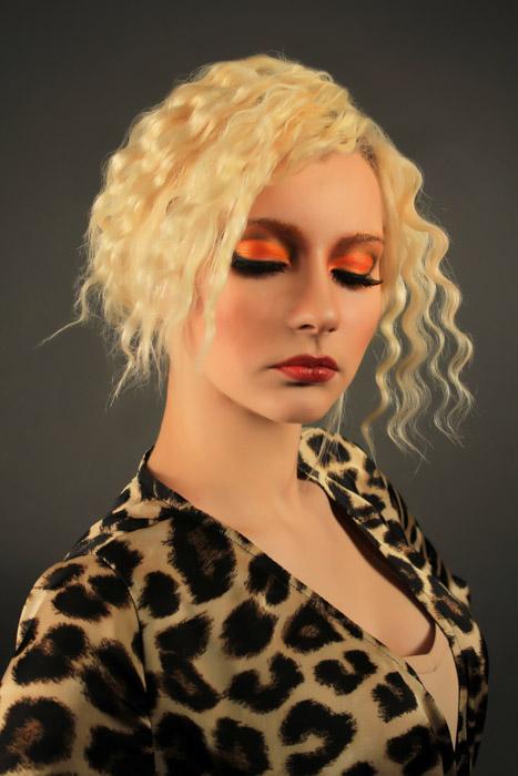 Модный макияж 2014. Ксения. Фото: Роман Корнеев