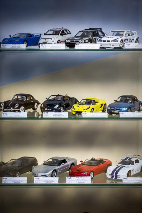 Модели с выставки коллекционных масштабных автомобилей и железнодорожного подвижного состава. Фото: Сергей Лучезарный/Великая Эпоха (The Epoch Times)