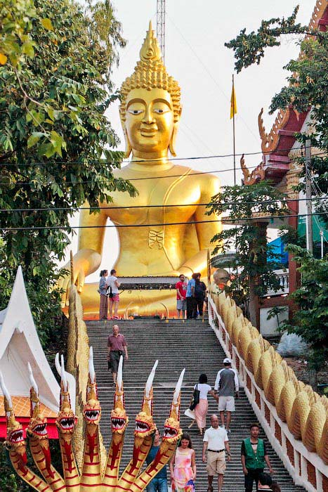 Большой Будда на холме в Паттайя. Фото: Николай Карпов/Великая Эпоха (The Epoch Times)