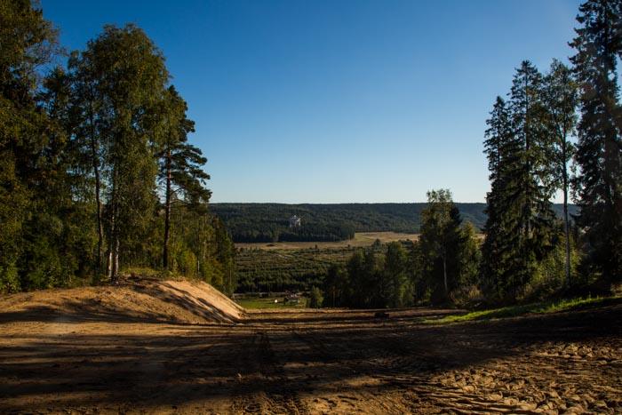 Вид, открывающийся с зимнего горнолыжного склона. Фото: Сергей Лучезарный/Великая Эпоха (The Epoch Times)