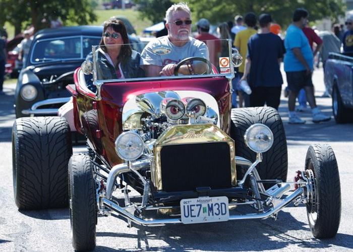 Хот-род «Форд» Model T Roadster 1923 года. Оттава (штат Канзас), автошоу 21 сентября 2013 года. Фото: Cat Rooney/Великая Эпоха (The Epoch Times)