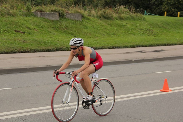Велосипедный спорт. Фото представлено Анной Фокиной