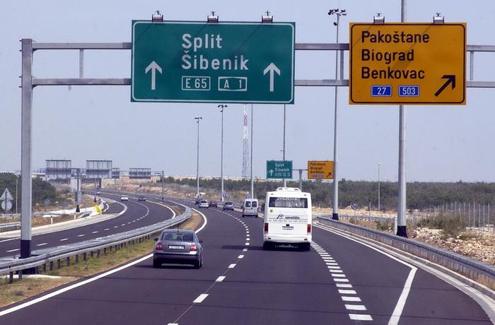 Дорожное движение, Хорватия. Фото:STRINGER/AFP/Getty Images