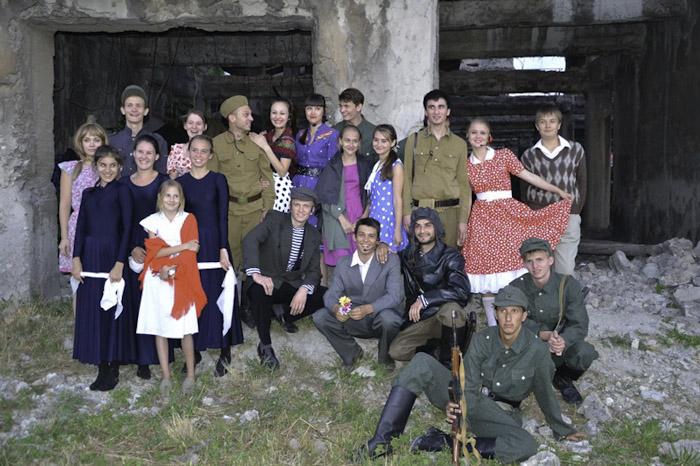 В Новороссийске провели акцию «Живи и помни» Фото: Ерванд МАРТИРОСЯН