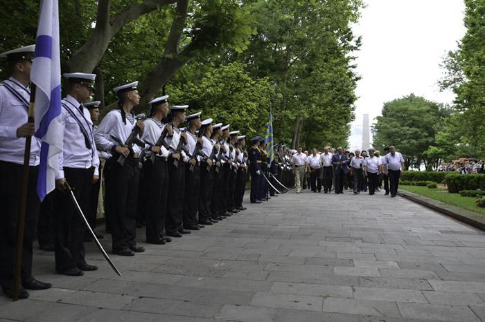 Митинг, посвящённый  Дню памяти и скорби, состоялся в  Новороссийске. Фото: Ерванд МАРТИРОСЯН