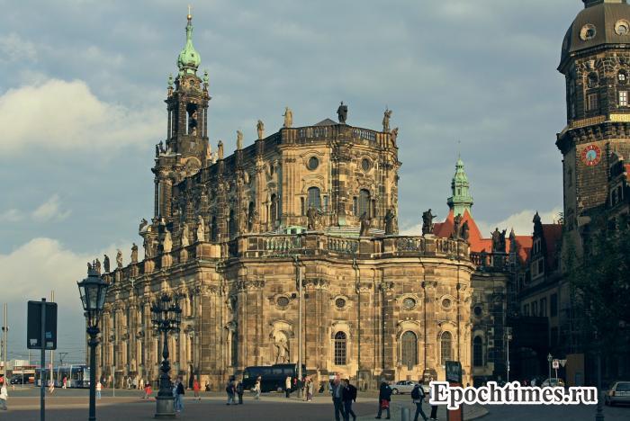 Хофкирхе, Дрезден . Фото: Великая Эпоха (The Epoch Times)