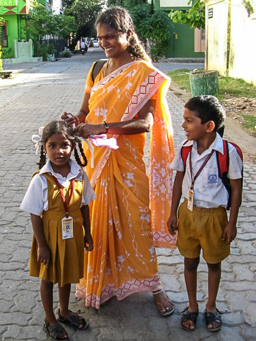 Индийские школьники. Фото: Татьяна Виноградова/Великая Эпоха (The Epoch Times)
