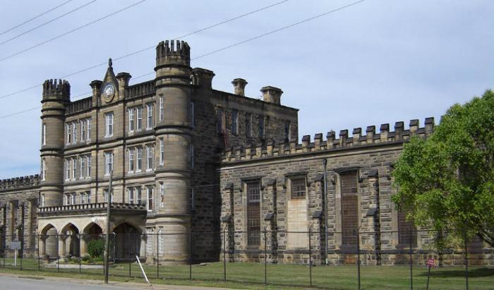 Тюрьма Маундсвилл Фото: Wikimedia Commons