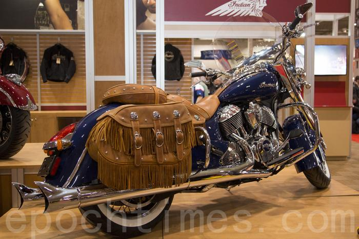 Мотоцикл Indian Chieftain 2014. Фото: Ай Вэнь/Великая Эпоха (The Epoch Times)