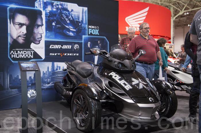 Выставка автомобилей и мотоциклов Toronto Motorcycle Show 2014. Торонто, Канада. Фото: Ай Вэнь/Великая Эпоха (The Epoch Times)