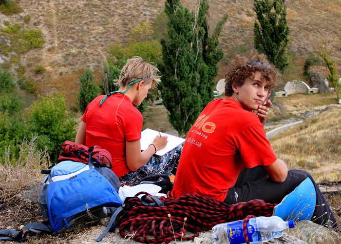 Туризмом занимаются с юности, когда есть сила, энергия и желание. Фото: Ирина Рудская/Великая Эпоха (The Epoch Times)