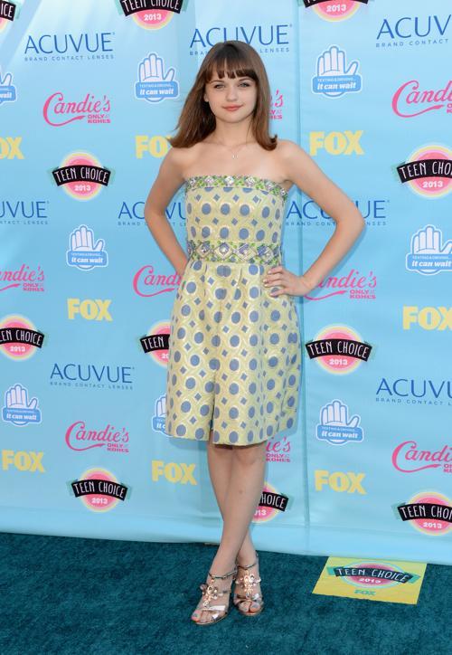 Актриса Джои Кинг. Ежегодную премию США «Выбор подростков» (Teen Choice Awards-2013) вручили 10 августа 2013 года в Калифорнии. Фото: Jason Merritt/Getty Images