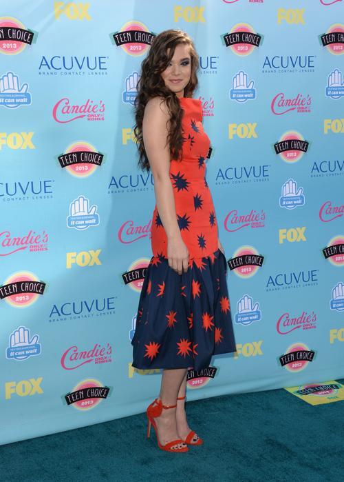 Актриса Хейли Стейнфелд. Ежегодную премию США «Выбор подростков» (Teen Choice Awards-2013) вручили 10 августа 2013 года в Калифорнии. Фото: Jason Merritt/Getty Images
