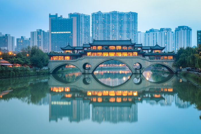 Вид на мост Аньшунь. Фото: Shutterstock*