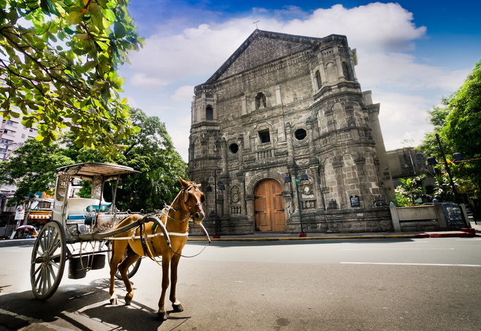 Церковь Malate. Фото: Shutterstock*