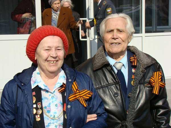 Ветераны-красноярцы в преддверии Дня победы. Фото: Александр Куликовский