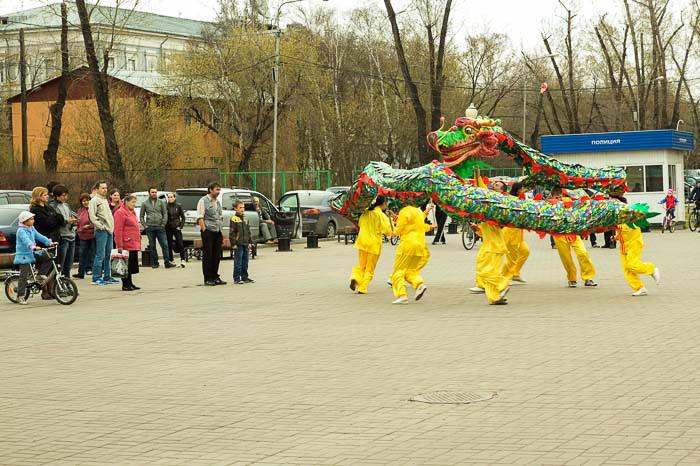 Празднование всемирного Дня Фалунь Дафа. Иркутск. Фото: Николай Ошкай/Великая Эпоха (The Epoch Times)