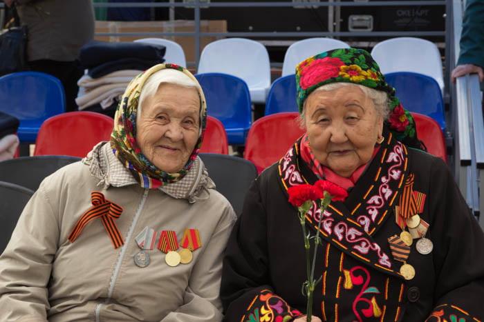 Празднование Дня Победы в г.Абакан. Фото: Сергей Тугужеков/Великая Эпоха (The Epoch Times)
