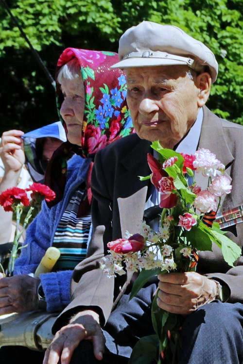 Празднование Дня Победы в г. Краматорск. Фото: Илья Иванов/Великая Эпоха (The Epoch Times)