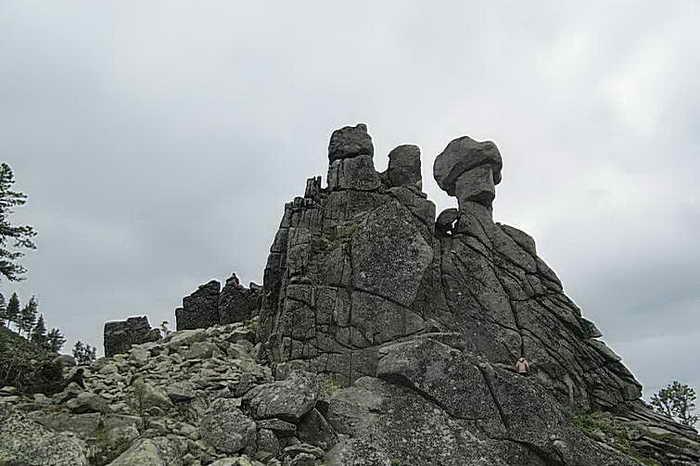 Горный массив Ергаки. Фото: Евгений Жулин