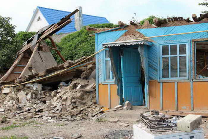 Последствия наводнения. Фото: Александр Трушников/Великая Эпоха (The Epoch Times)