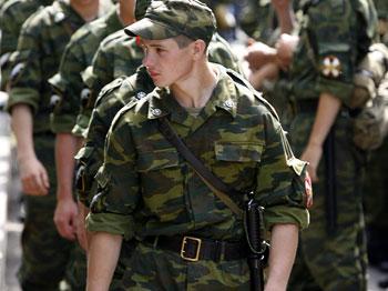 Призывники. Фото:Dima Korotayev/Getty Images