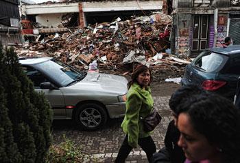 Землетрясение в Чили. Фото:MARTIN BERNETTI/Getty Images