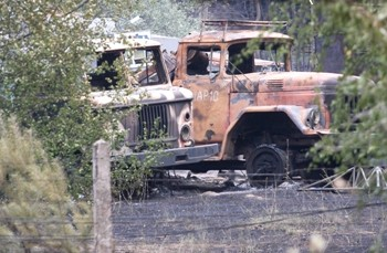 Под Коломной сгорела военная база стоимостью 30 млрд рублей. Фото с er.ru