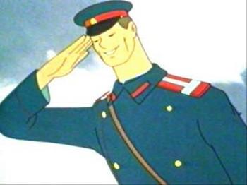 МВД России решило формировать положительный образ милиционера. Кадр мультфильма «Дядя Степа - милиционер»