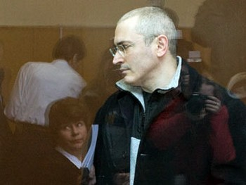Михаил Ходорковский в зале суда. Фото Юрия Тимофеева,