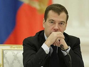 Дмитрий Медведев. Фото пресс-службы президента России