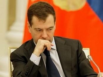 Президент РФ Дмитрий Медведев. Фото пресс-службы Кремля