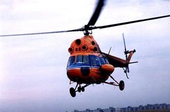 В ночь на воскресенье на территории Калмыкии потерпел катастрофу вертолет Ми-2.  Фото: militarists.ru