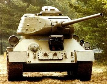 Танк Т-34. Фото с russkietanki.ru